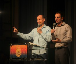 The Flame of God Conference with Bob Sorge took place in Krasnoyarsk